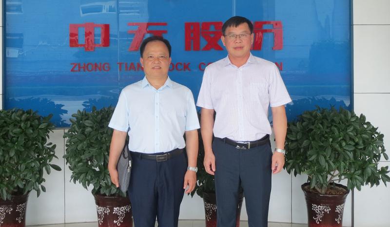 深化产学研合作,中国石油大学教授单亦先一行来我司进行深入交流